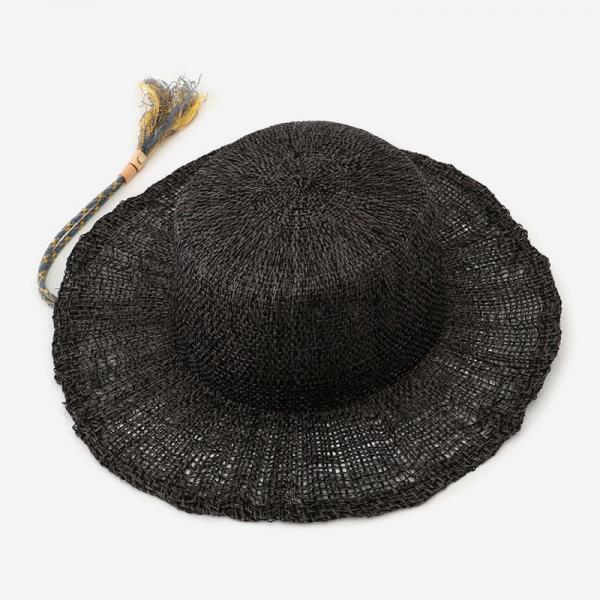 Nine Tailor TORTIRAMA HAT ブラック