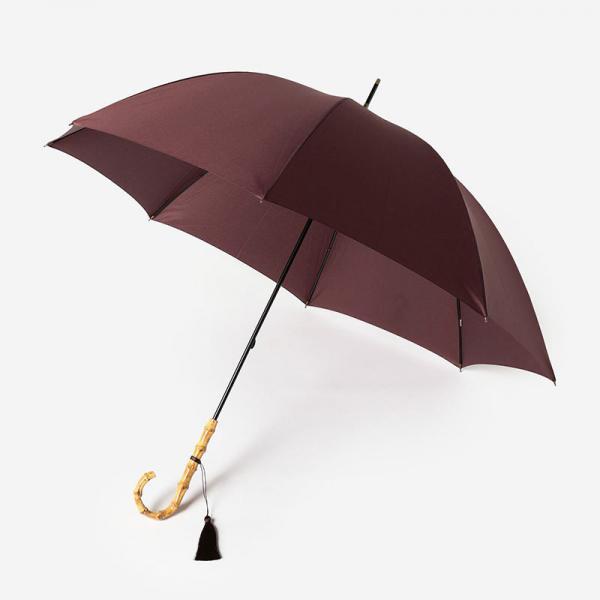 JETTE UMBRELLA 長傘(雨傘) 58cm ブラウン