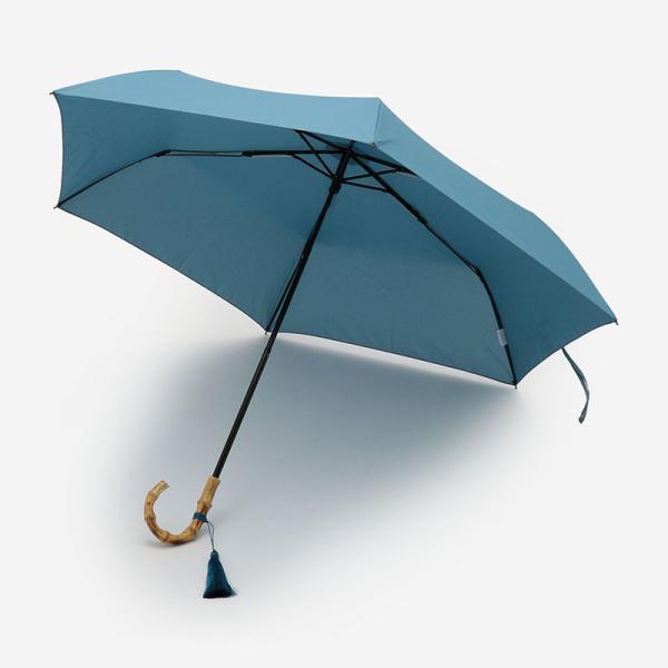 JETTE UBRELLA 折りたたみ傘(雨傘) 50cm ブルーグレー
