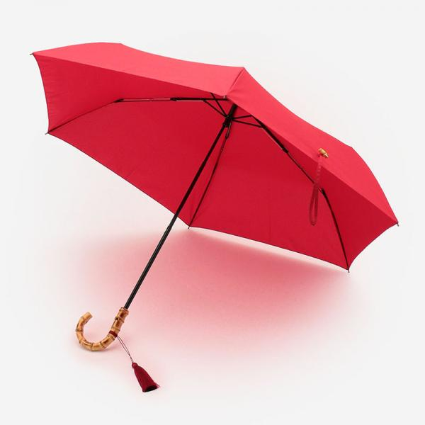 JETTE UMBRELLA 折りたたみ傘(雨傘) 50cm レッド