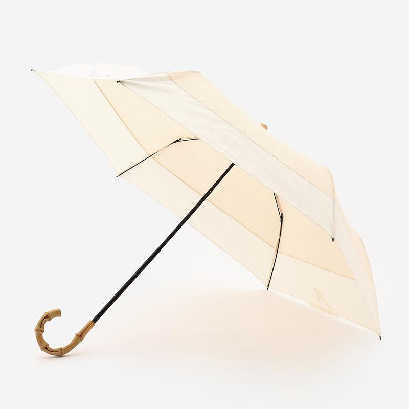 KIRSTEN UMBRELLA 折りたたみ日傘 50cm ベージュ