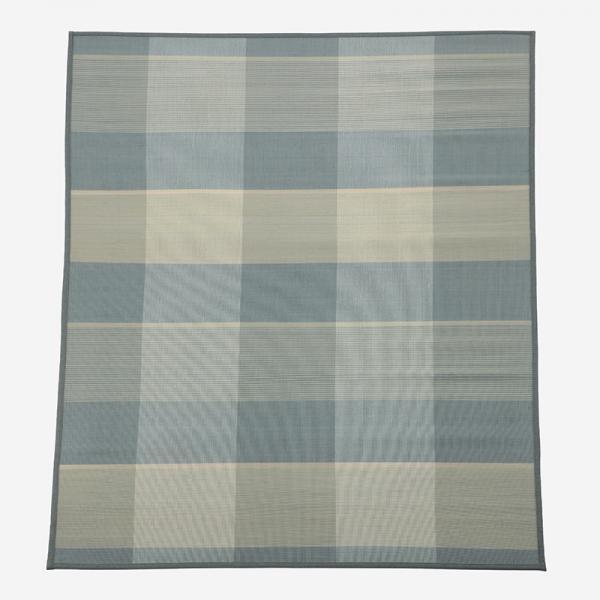 バンブーラグ 170×240cm ライトブルー