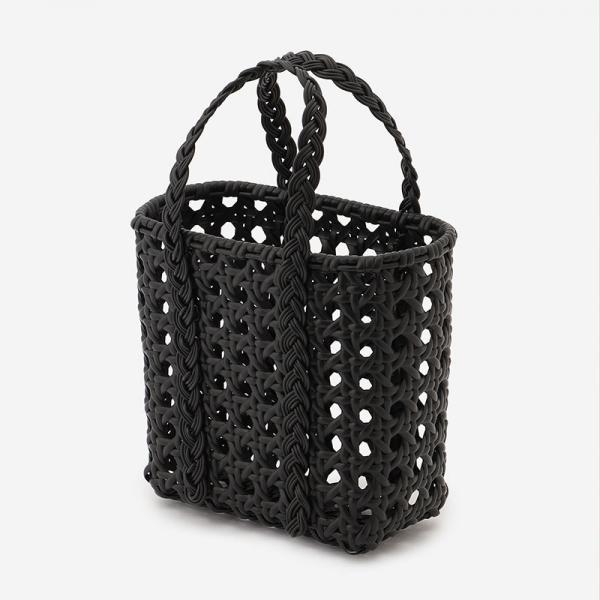 WOVEN BAG PERATTAN BLACK S