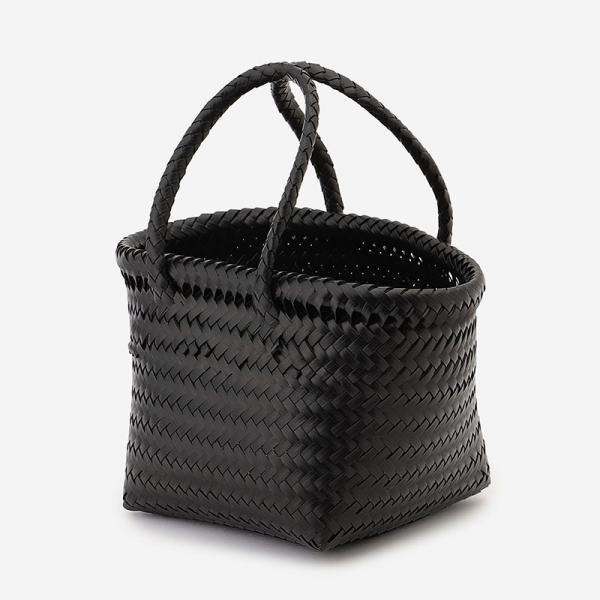 BASKET POLY BAG ブラック