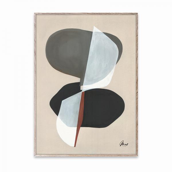 Paper Collective ポスター 50×70cm Composition 01/OAK