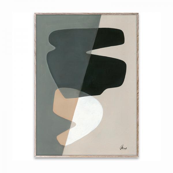 Paper Collective ポスター 50×70cm Composition 02/OAK