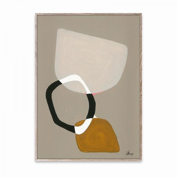 Paper Collective ポスター 50×70cm Composition 03/OAK