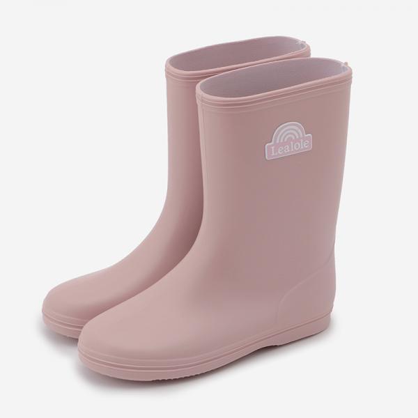 Leapepe レインシューズ 18cm ピンク