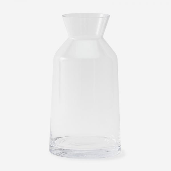 sarasa design b2c ミルクポットフラワーベース Lサイズ クリア