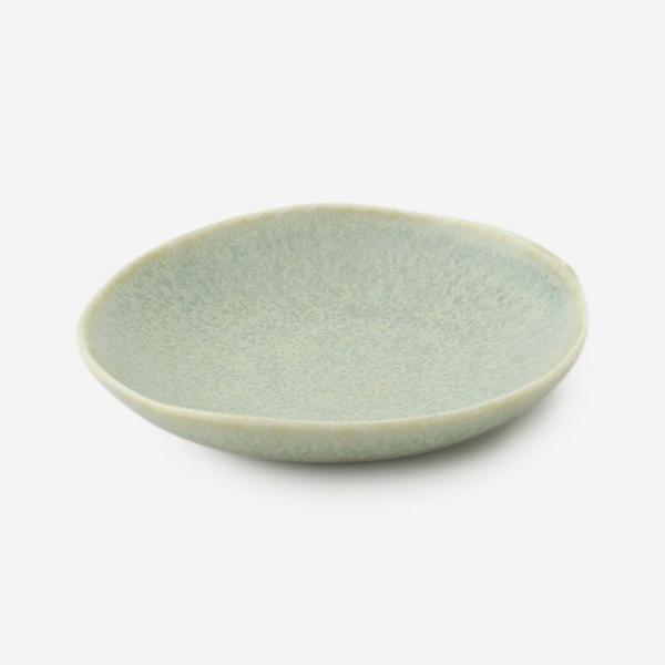GREGE 豆皿 R7.3cm シルバーグリーン