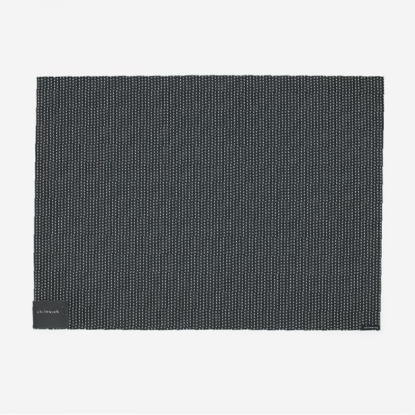 Chilewich テーブルマット PICKSTITC  36×48cm BLACK
