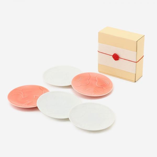 小田陶器 engi紋 5Pプレートギフトセット