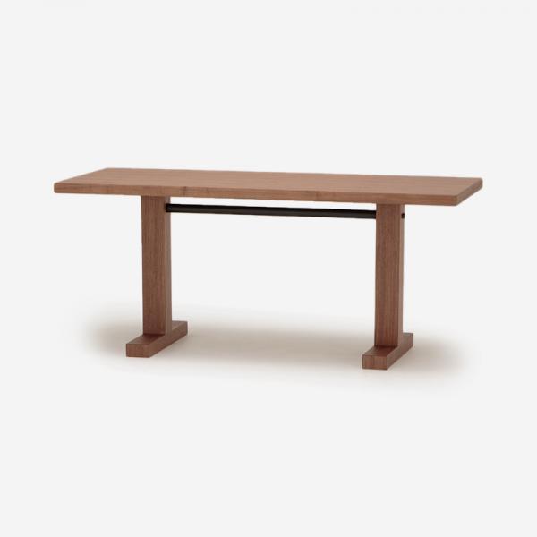 【5月下旬頃お届け】OWN-S ダイニングテーブル ウォールナット 150×60