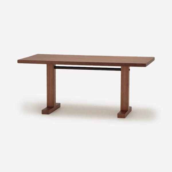 【6月上旬頃お届け】OWN-S ダイニングテーブル ウォールナット 150×75