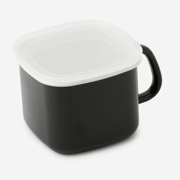 SIMPLICITY 琺瑯 味噌ポット ブラック