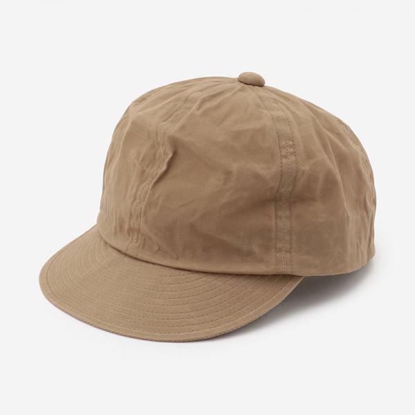 Nine Tailor LYMINGTON WAX CAP カーキ