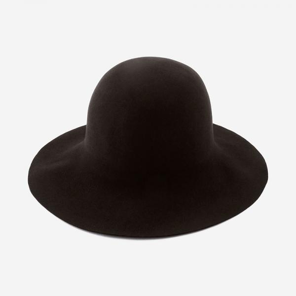 Nine Tailor HAND MADE HAT BROWN