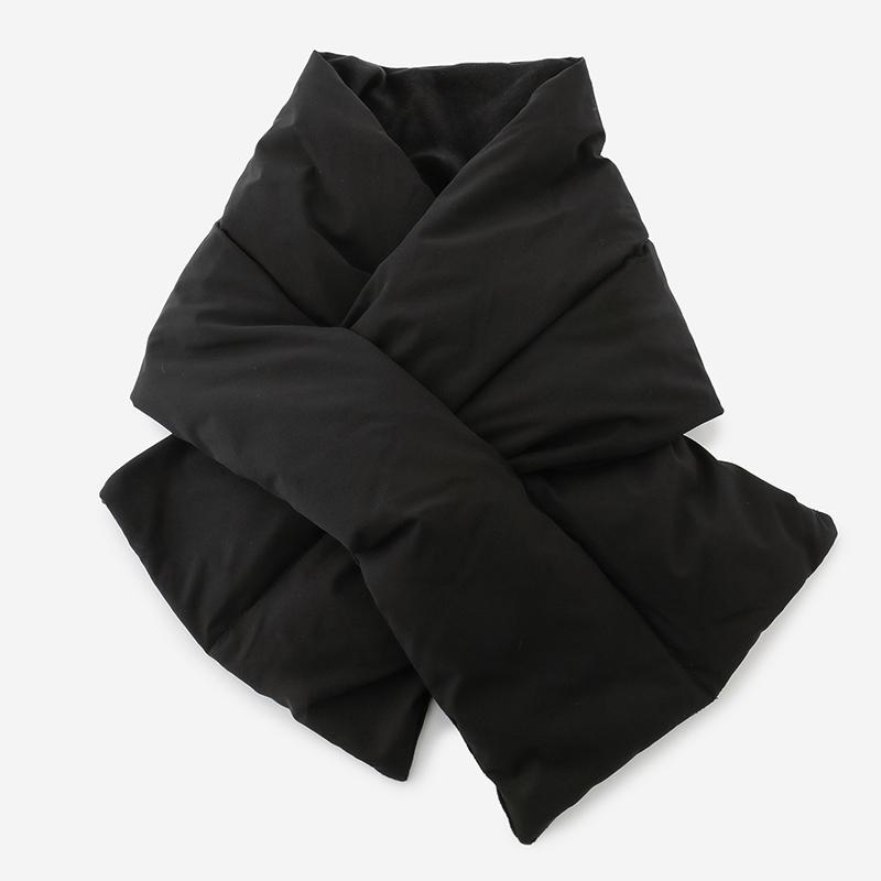 リバーシブルスナグマフラー ブラック