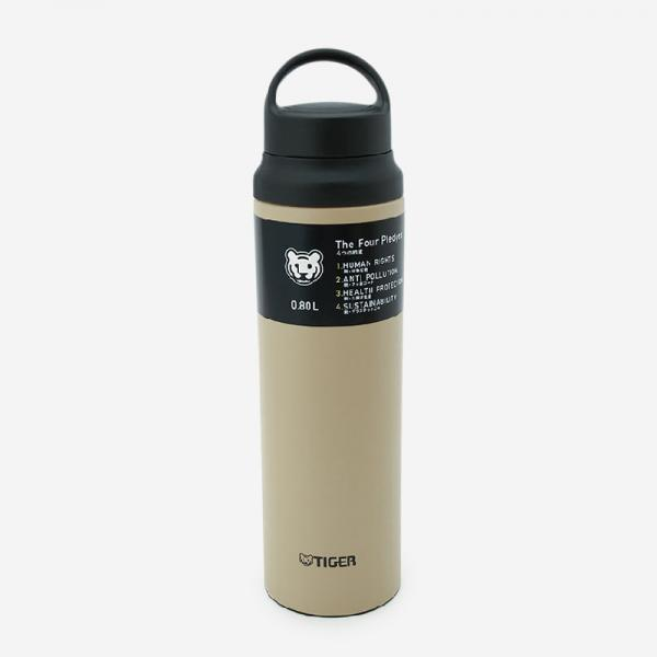 TIGER 真空断熱ステンレスボトル MCZ-S080 0.8L 抗菌加工せん パシフィックビーチ