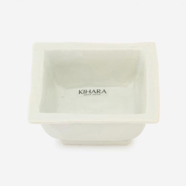 KIHARA 古白磁 角豆鉢