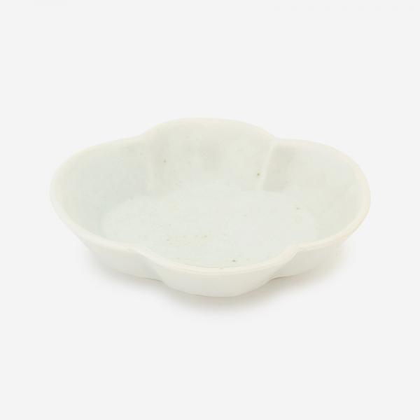 KIHARA 古白磁 木甲豆鉢