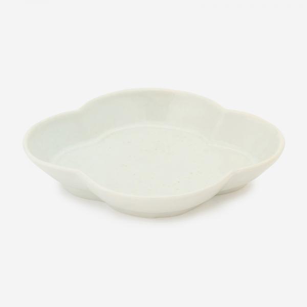KIHARA 古白磁 木甲小鉢