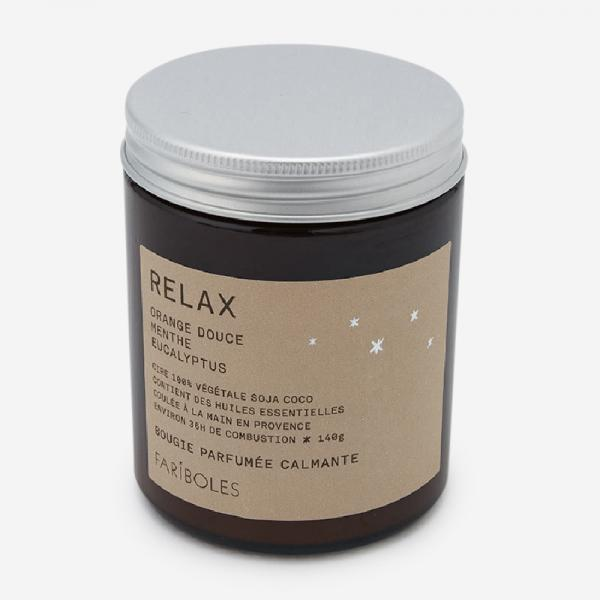 FARIBOLES キャンドル(140g) RELAX