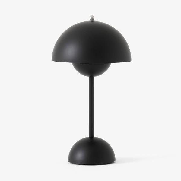 VP9 FLOWER POT POTABLE LAMP MAT BLACK