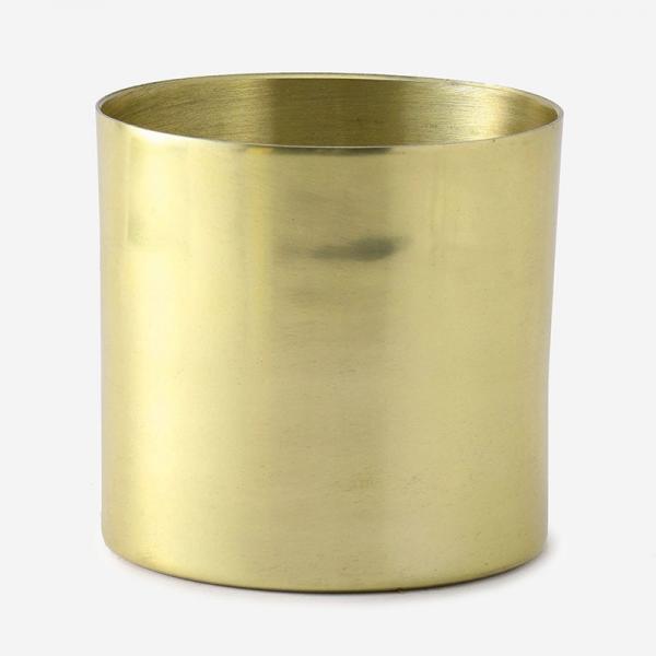 FARM プラントポット/ラーケルシリンダ (4号鉢) ゴールド