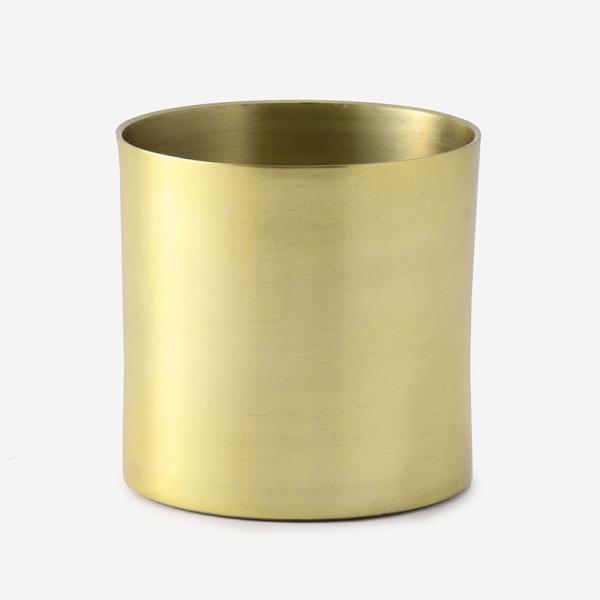 FARM プラントポット/ラーケルシリンダ (3.5号鉢) ゴールド
