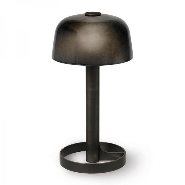 SOFT SPOT PORTABLE LAMP SMOKE