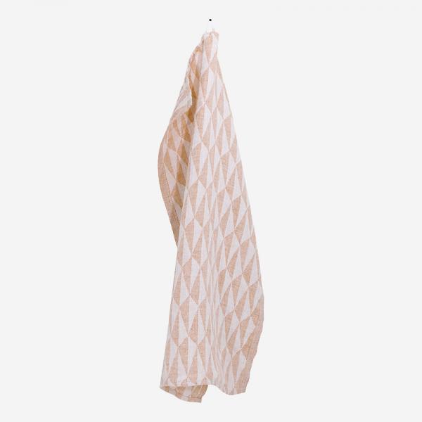 LAPUAN KANKURIT TRIANO towel 48×70cm white-cinnamon