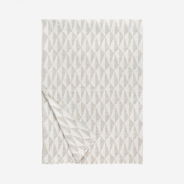 LAPUAN KANKURIT TRIANO blanket 140×200cm white-linen
