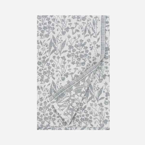 LAPUAN KANKURIT NIITTY  tablecloth/blanket 150×260cm white-grey