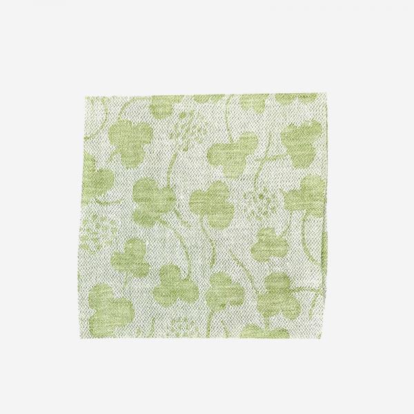 LAPUAN KANKURIT APILA linen handkerchief 36×36cm green