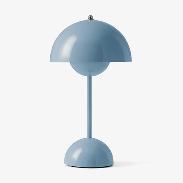 VP9 FLOWER POT POTABLE LAMP LIGHT BLUE