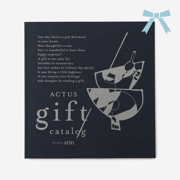 【リボン】ACTUSギフトカタログ インディゴ