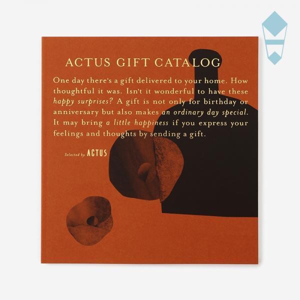 【熨斗】ACTUSギフトカタログ ヴァーミリオン