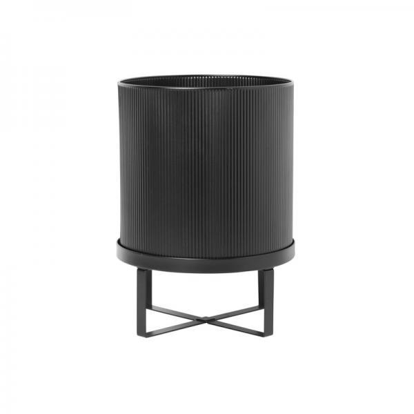 ferm LIVING Bau Flower Pot Large Black