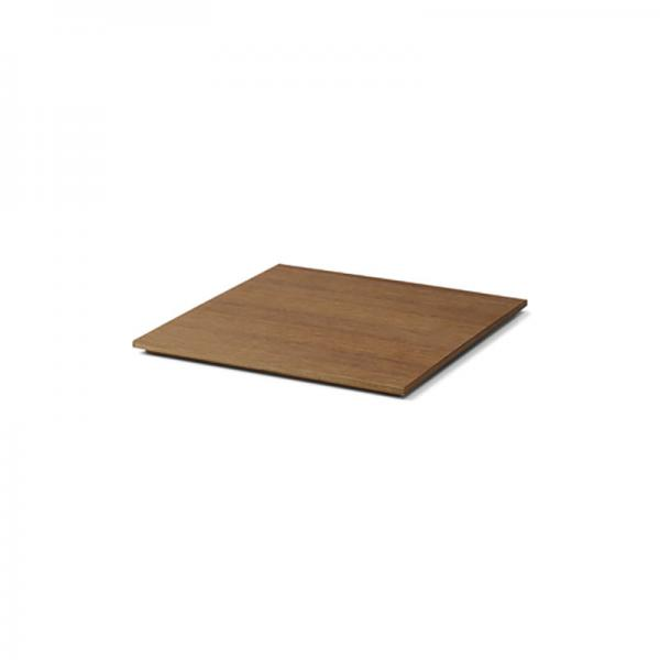 ferm LIVING Tray for Plant Box Wood Smoked Oak