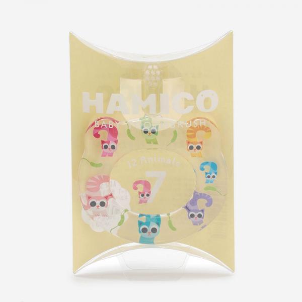 Hamico ベビー歯ブラシ ネコ