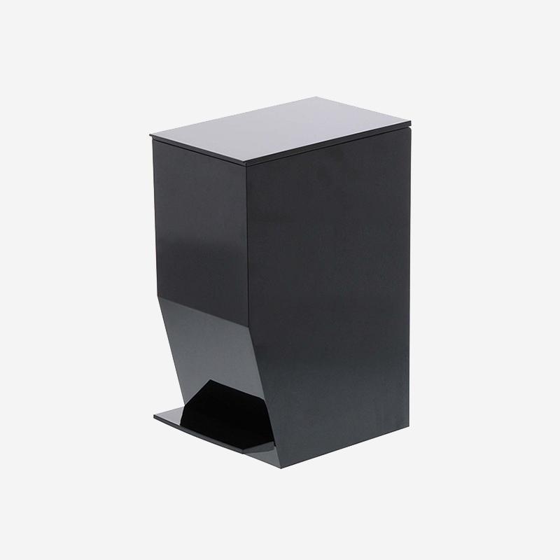 tower ペダル式トイレポット ブラック