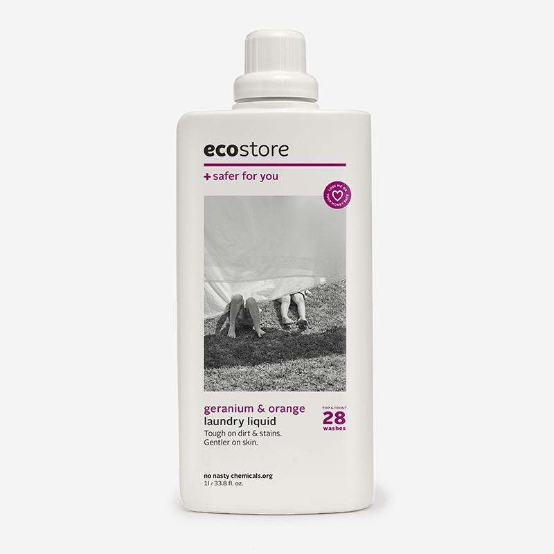 ecostore ランドリーリキッド ゼラニウム&オレンジ 500ml