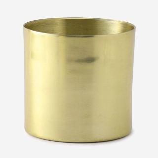 プラントポット/ラーケルシリンダ 13cm ゴールド