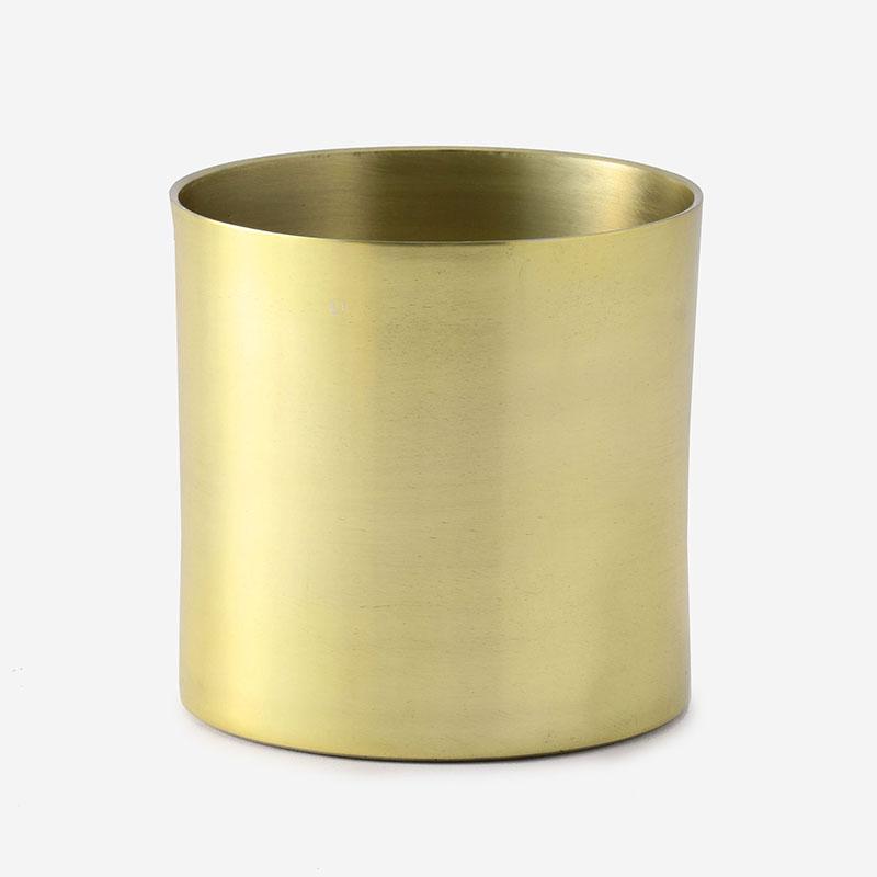 プラントポット/ラーケルシリンダ 11cm ゴールド