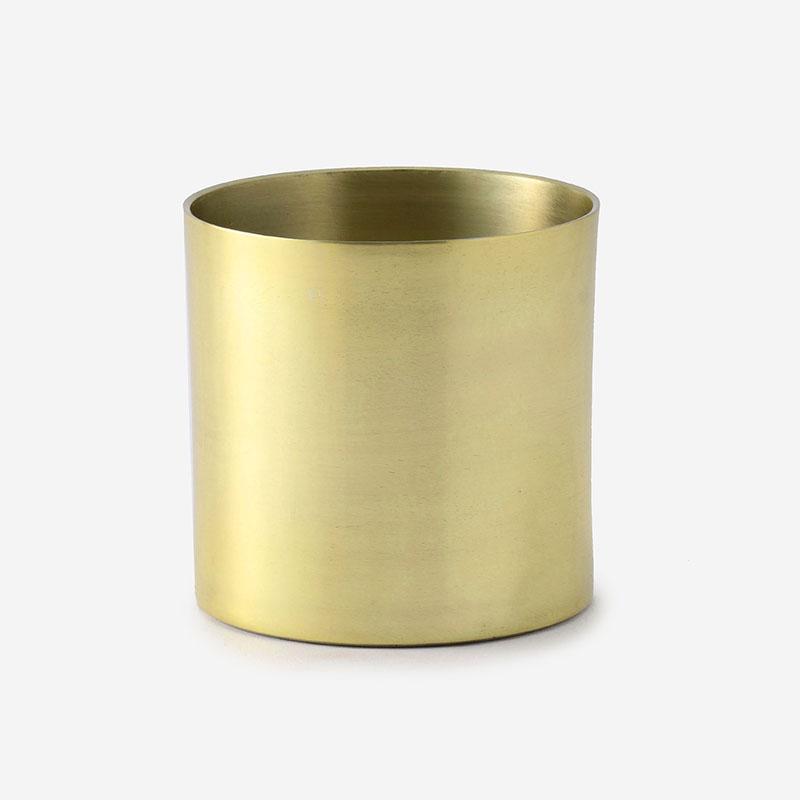 プラントポット/ラーケルシリンダ 9cm ゴールド