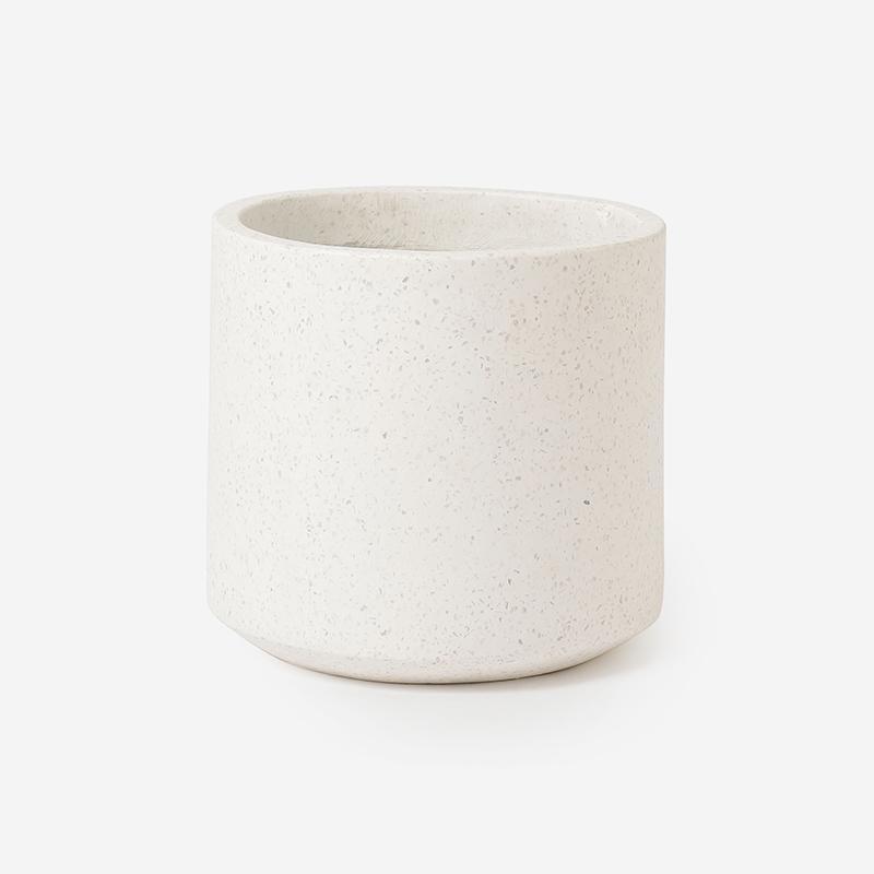 プラントポット/コーテス シリンド Sサイズ ホワイト
