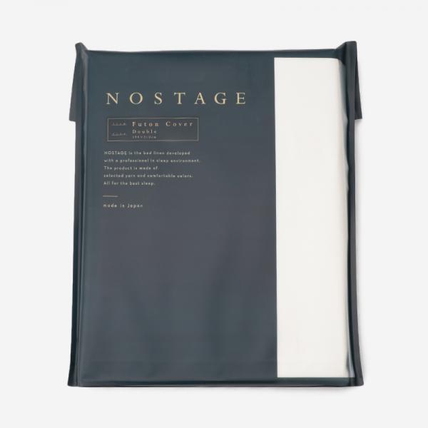 コットンサテン 布団カバー(ダブル) 190×210 ホワイト