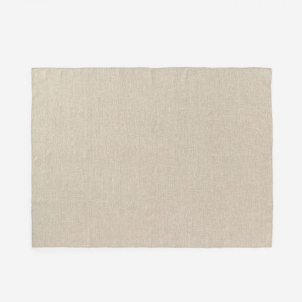 RISE&SHINE リネンテーブルクロス 100×140cm ナチュラル