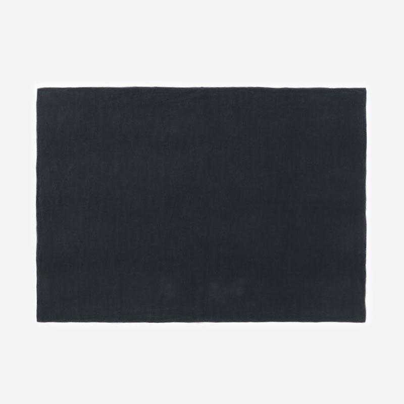 RISE&SHINE リネンテーブルクロス 100×140cm ネイビー